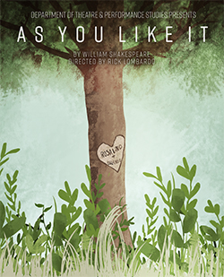 As you like it - poster